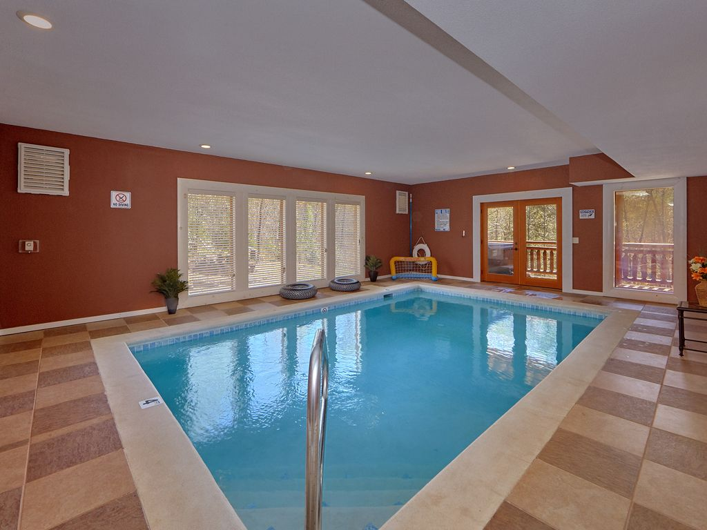Private Indoor Swimming Pools enjoy your private indoor pool and theater. - vrbo
