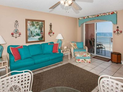 Gulf-front on 5th Floor | Low Density Complex | Outdoor pool, BBQ, Wifi | Free golf, fishing, OWA