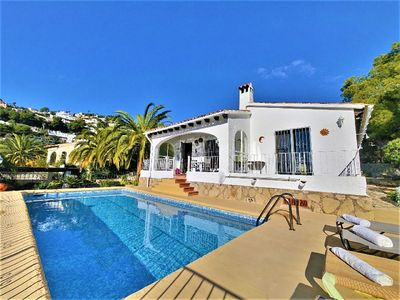 Photo for Comfortable villa with private pool for 4 people in Moraira