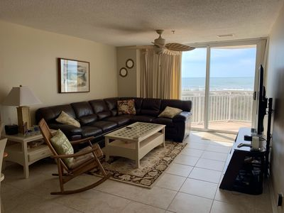 Photo for 3BR/2BA Direct Ocean Front  - Booking now for 2020