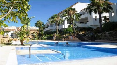 Photo for Comfortable apartment in a residence with 5 swimming pools and free WIFI!