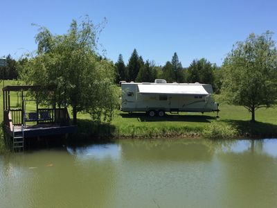 """Photo for """"Camp"""" in our Trailer in Charlevoix"""