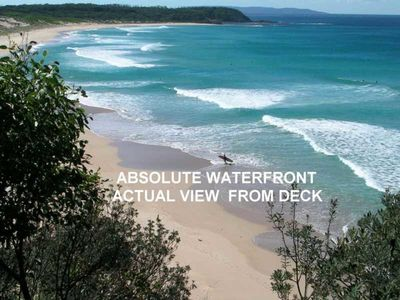 Photo for Manyana Beach Break situated on absolute waterfront overlooking Inyadda Beach. WIFI Available