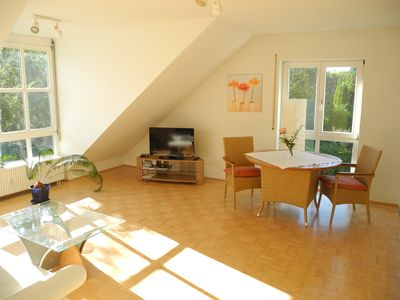 Photo for Modern, bright 2-room apartment in the Schützenstraße about 250 meters from the old town.
