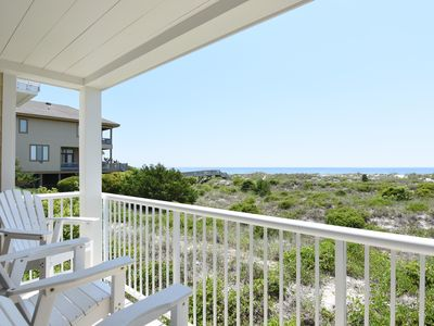 Photo for Wrightsville Dunes 1C-H - Oceanfront condo with community pool, tennis, beach