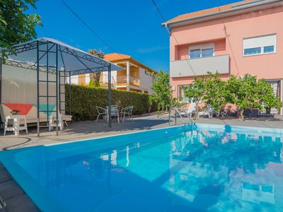 Photo for Katarina Apartments Zadar Apartment 1, outdoor pool, best choice for families