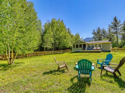 Photo for Newly updated cottage w/ firepit & fireplace - dogs welcome!