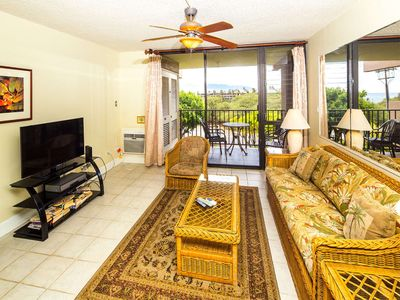 Photo for West Maui View+Homey Comfort! Open Design w/New Kitchen, WiFi–Kamaole Sands 4307
