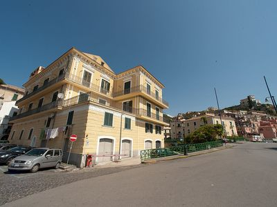 Photo for Appartamento Mariuccia F: A welcoming apartment situated at a few steps from a sandy beach, with Free WI-FI.