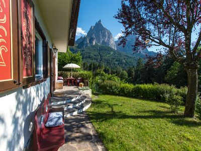 Photo for Exclusive Chalet in Siusi in the Dolomites