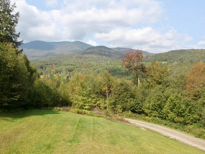Photo for Stunning Views Of Sugarbush Mountain In The Heart Of Vermont