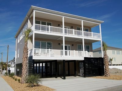 Photo for Seaside Escape, 5 BR Luxury Home with Beautiful Ocean Views, Outdoor Swimming Pool and Hot Tub