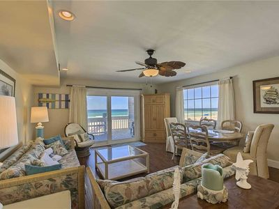Photo for Shoreline Villas 16 - Gulf Front! Panama City Beach! Private Beach Boardwalk!