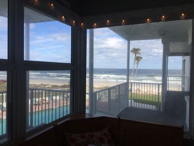 Photo for Ocean Front with a View of Daytona Beach Pier!