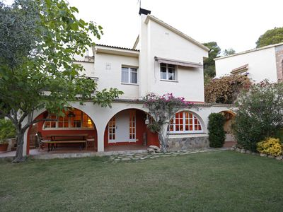 Photo for Libélula houses situated nearby Sitges in the middle of natural Garraf park