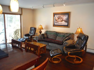 Photo for Newly Renovated! - Backyard Forest View on All Three Floors, 30' to Pool/Hot Tub