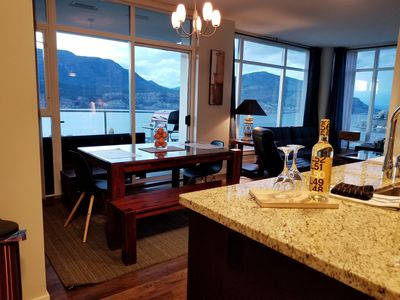 Photo for Executive Downtown Kelowna Condo with a Spectacular View of OK Lake