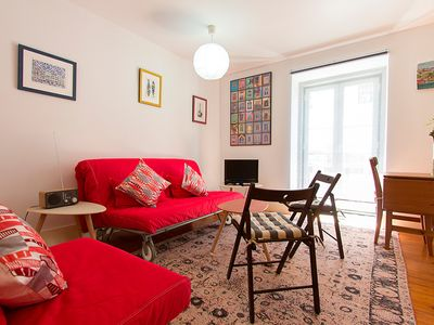 Photo for Typical apartment near Santa Catarina sightseeing and Bairro Alto