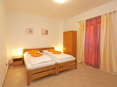 Photo for Apartment for 2 people with 2 extra beds (ID 15132)