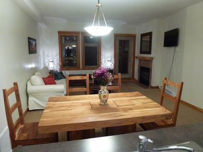 Photo for Peaceful and inviting one bedroom condo in the heart of Canmore