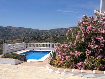 Photo for Idyllic Country Villa with a Pool, Hot Tub & BBQ set in the Competa Mountains