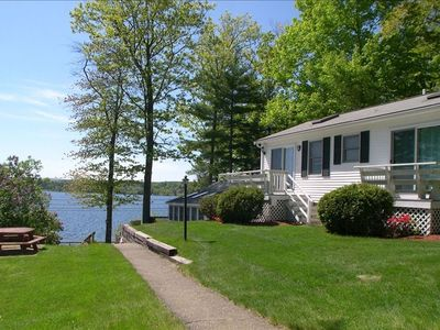 Photo for Relax at This Lake Winnipesaukee Water View Home(Weekly rentals only)