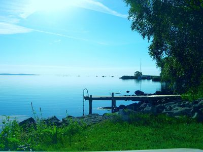 Photo for Stand Land in Norje by boat and private dock / Sommeridylle dirket am Meer