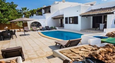 Photo for HOUSE STYLE IBIZA 300 M2 VERY RESIDENTIAL AREA.
