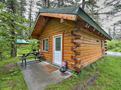 Photo for Cozy Seward Studio Cabin w/Grill on Salmon Creek!