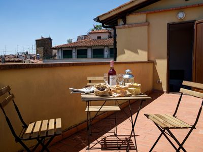 Photo for Bright 3 Bedroom Apartment with Terrace near Piazza Duomo