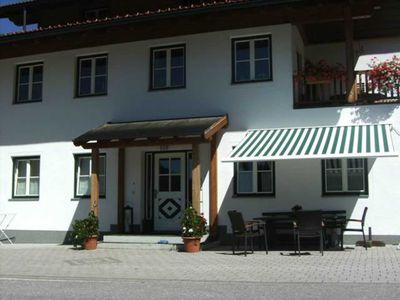 Photo for Apartment Parterre f. 2-6 pers. with private entrance - child-friendly recreation farm Windbachgut