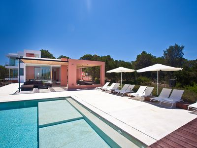 Photo for Extraordinary minimalist style Villa. Amazing sea views. Sunset as a daily show