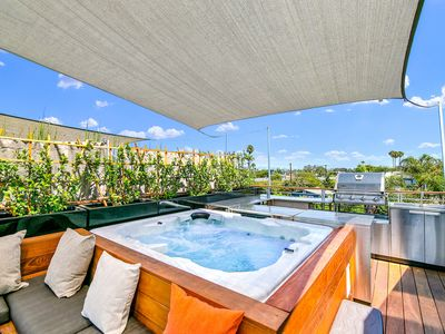Photo for Venice Beach Modern Luxury Home with Rooftop & Spa