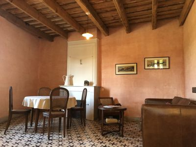 Photo for Charming 1 bedroom apartment in historic Mas near Uzes