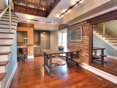 Photo for Industrial-Chic Downtown 1BR w/ River Views - Steps to Dining & Entertainment
