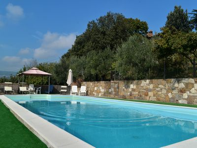 Photo for Villa in Tuscany with private pool ,adsl, conditioned air,mosquito nets
