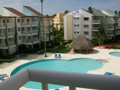 Photo for Beachfront Playa Turquesa 2 BR/2 BA Penthouse Condo W/Rooftop