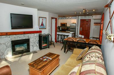 Photo for Prime Ski-in Ski-out Location! Pool, Hot tubs, BBQ, sleeps 8 (219)