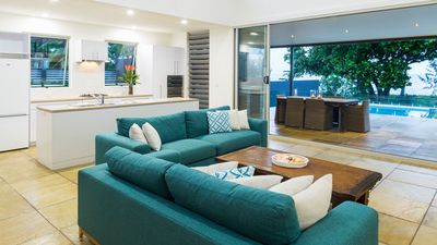 Renovated Lounge Room - Inside-Out Living