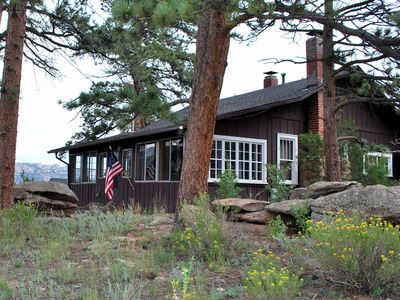 in cabin md cottages property hummingbird park estes all book colorado exterior cabins