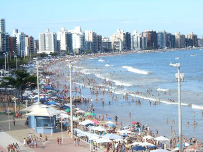 Photo for Apartment in front of the sea (praia do Morro)