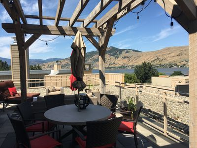 Photo for Welcome Home to the Strand Lakefront Resort in Vernon  Roof top patio lake views