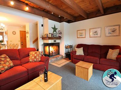 Photo for Cozy two bedroom condo on the shuttle route & ski back trail