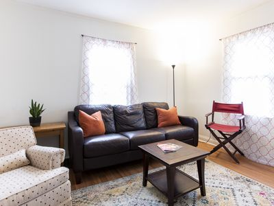 Photo for The Carlisle: 2 bedrooms, Laundry, 5 min to Track