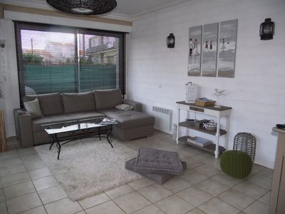 Photo for Ground floor house of 110 sqm with garden and courtyard
