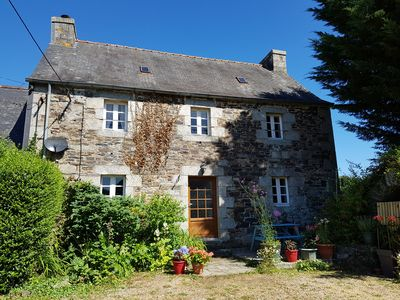 Photo for Book now!Perfect for walking cycling.Sleeps 4, near Huelgoat,Brittany.