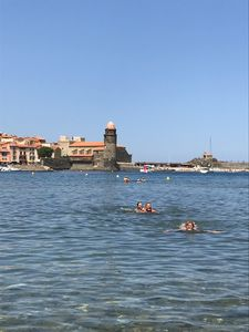 Photo for Collioure apartment 73m2 + FREE PRIVATE PARKING + TERRACE 17M2