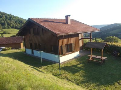 Photo for Comfortable chalet in a quiet area in the Hautes Vosges in Dennerie