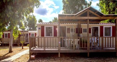 Photo for mobilehome with terrace