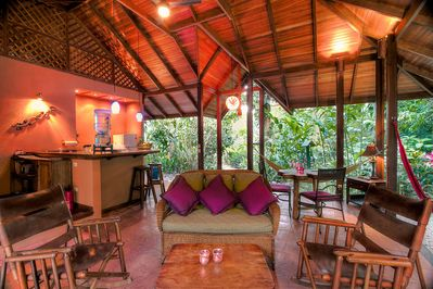 Privacy, comfort and beautiful surroundings at your rainforest home.